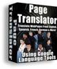 Thumbnail page translator with master resell rights