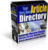 your very own article directory with resell rights