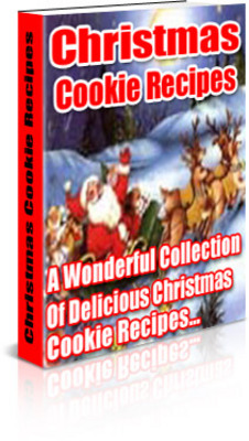 Product picture christmas cookie recipe with mrr