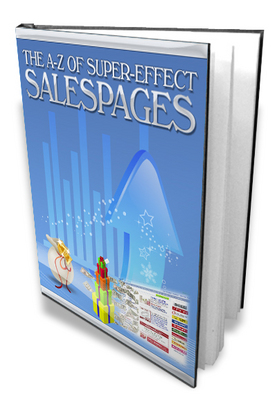 Product picture A-Z of super-effective sales pages