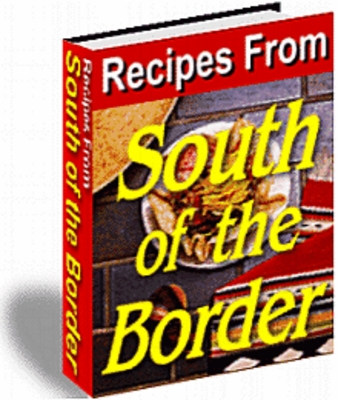 Product picture  Recipes From South Of The Border with MRR
