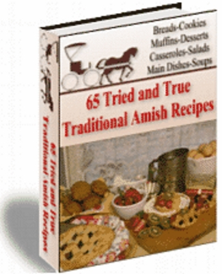 Product picture 65 Amish Recipes with master resell right