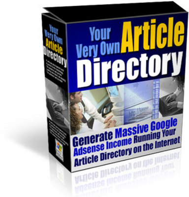 Product picture your very own article directory with resell rights
