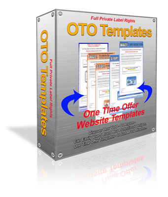 Product picture 5 one time over (oto) templates with PLR