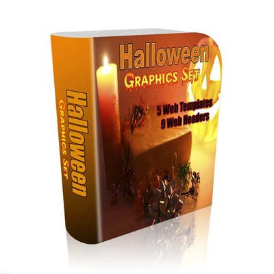 Product picture Halloween Graphics Set with MRR