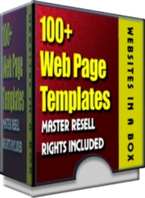 Product picture 100 website templates with MRR