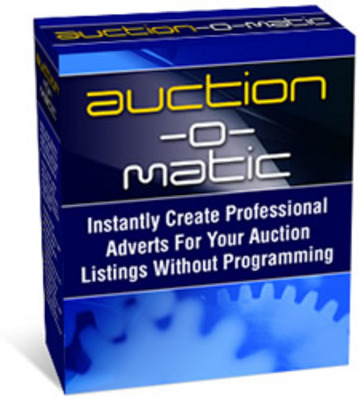 Product picture auction o matic with mrr