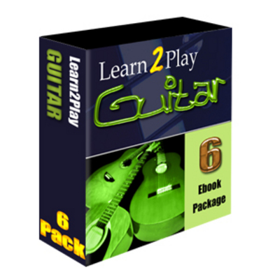 Product picture learn to play guitar 6 ebook with MRR