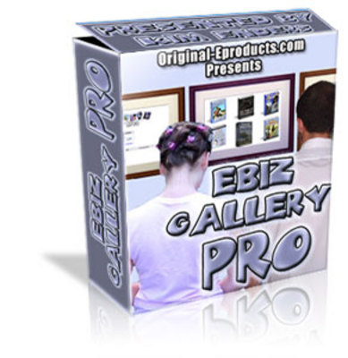 Product picture ebiz galery pro website script with MRR