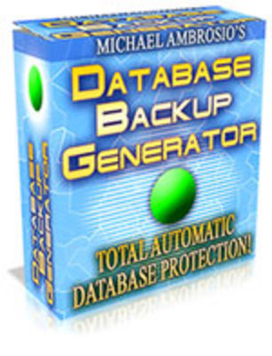 Product picture database backup generator script with MRR