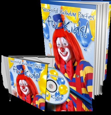 Product picture successful birthday parties with audio and MRR